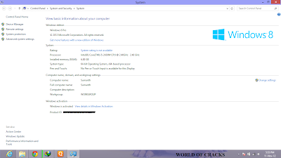 Untitled How to activate Windows 8 ?