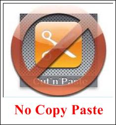 gbr no copy paste