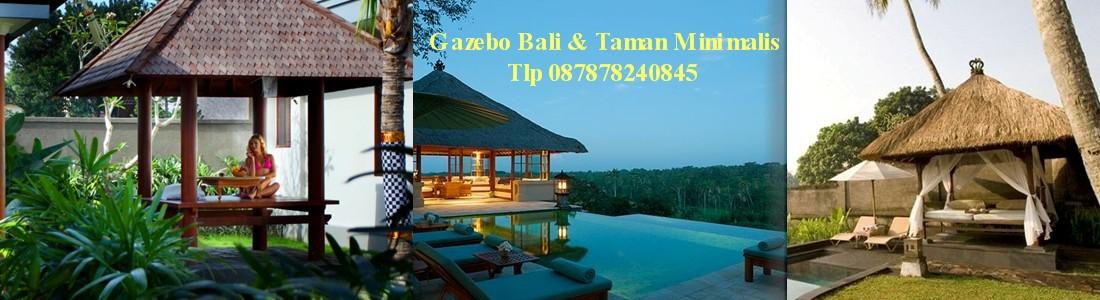 Gazebo Bali Taman Rumah Minimalis Jakarta Tlp 087878240845  osakrisna@gmail.com