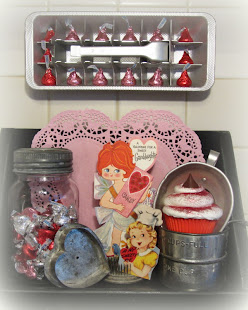 Kitchen Valentine Vignette