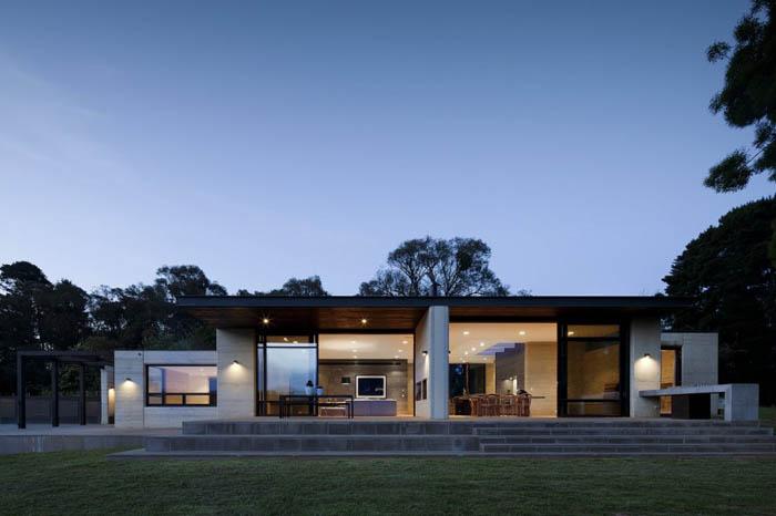 casas minimalistas y modernas casa de campo minimalista