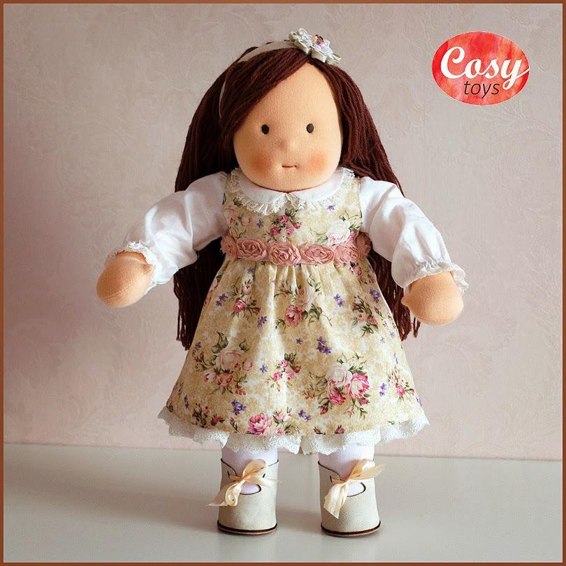 Текстильная кукла по вальдорфской технологии