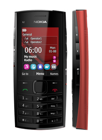 Nokia X2-02 Review and Specification