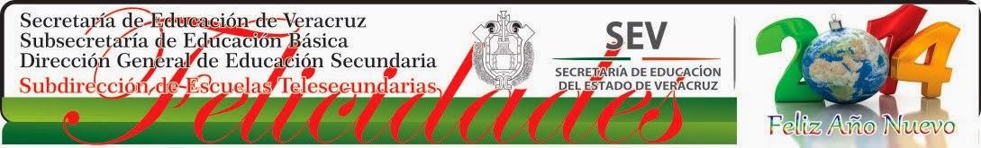 SUPERVISION ESCOLAR ZONA 014 DE TELESECUNDARIAS; GUTIERREZ ZAMORA, VER.