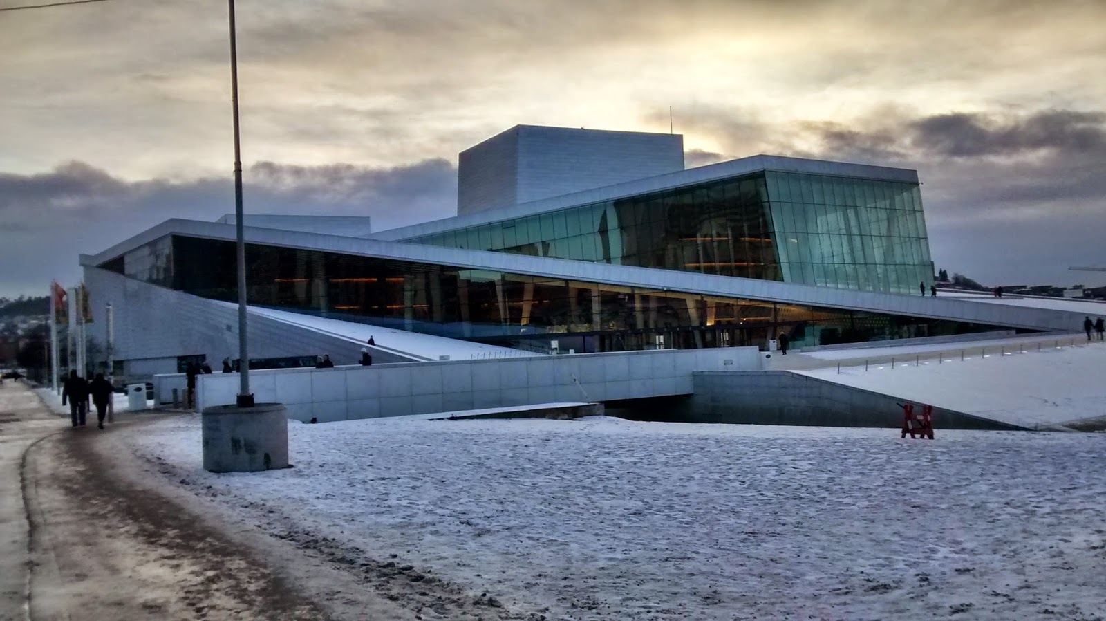 Opera e Ballet House em Oslo