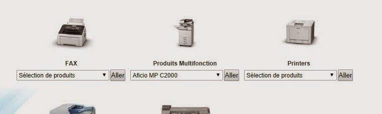 ricoh support driver Aficio mp c2000 a photocopieur couleur comment trouver le bon driver ...