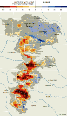 Southern Great Plains' water is quickly drying up