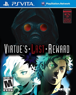 Zero Escape: Virtue's Last Reward PS Vita Cover