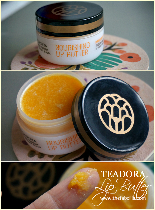 review, teadora nourishing lip butter, rainforest at dawn