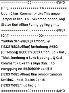 bot komen terbaru 2013
