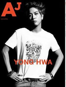 [R�PORTAJ] CNBLUE - Yong Hwa AJ Japon Dergisi R�portaj�