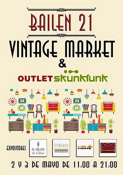 Nueva cita deco en Bilbao: Bailén 21 Vintage Market (2-3 de Mayo)