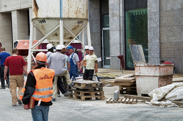 Baustelle Wohn und Shoppingwelt, Leipziger Platz 12, LP12, Leipziger Straße, 10117 Berlin, 04.06.2014