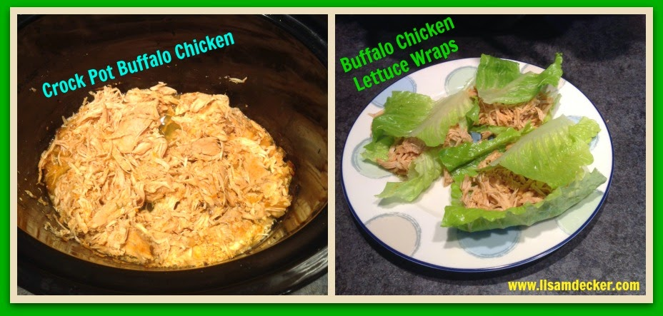 Crock Pot Buffalo Chicken, Lettuce Wraps, Clean Eating Crock  Pot Meals