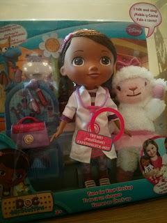 Doc McStuffins Interactive doll