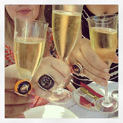 *CLINK!* the Image 4 Wearing Memories Champagne Jewelry!