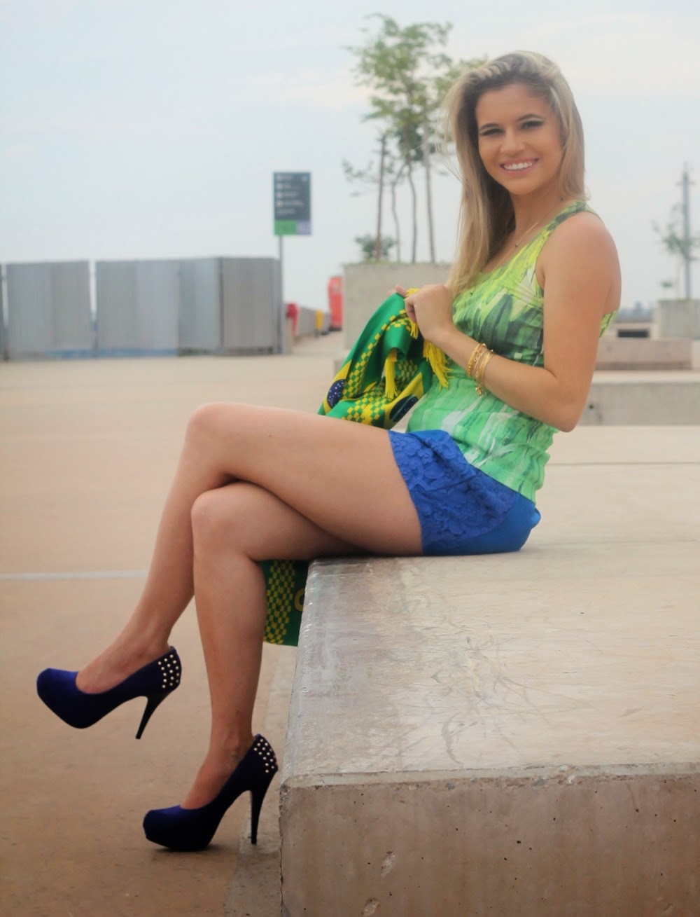 Look de Copa do Mundo - Look do Brasil