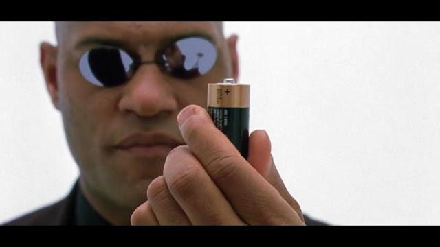 Telo je jako energie naplnena energii, Matrix, USA/Australie, 1999