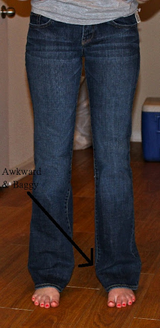 How to Make Jeans Into Skinny Jeans - Devon Alana