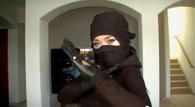 Truco para hacer un simple disfraz de Ninja