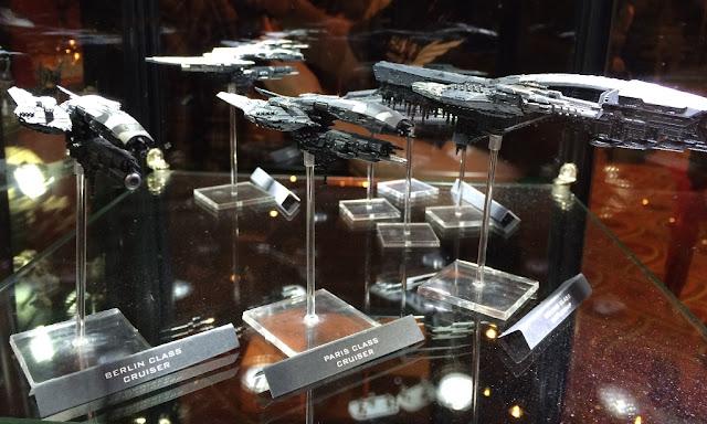 Hawk Wargames Dropfleet Ships