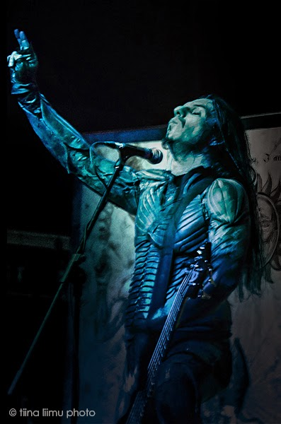 SEPTICFLESH - Rickshaw Theatre -  tiina liimu photo