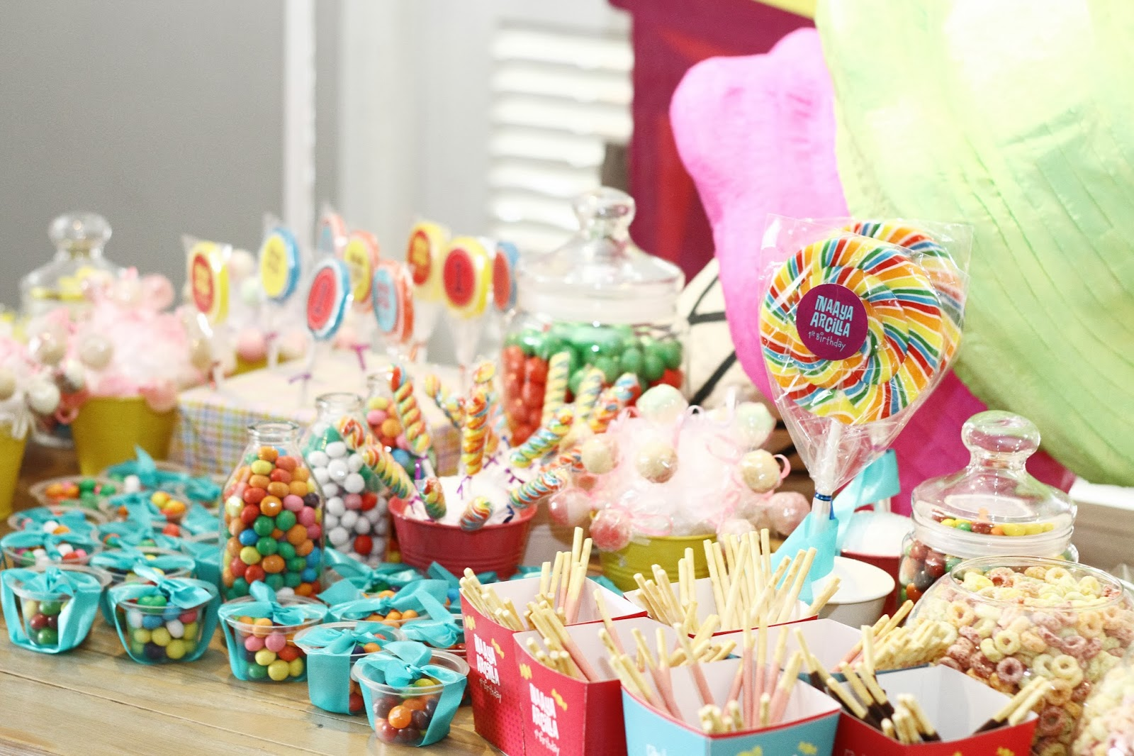 Inaaya Arcilla S 1 Candyland Party Family And Lifestyle Blog