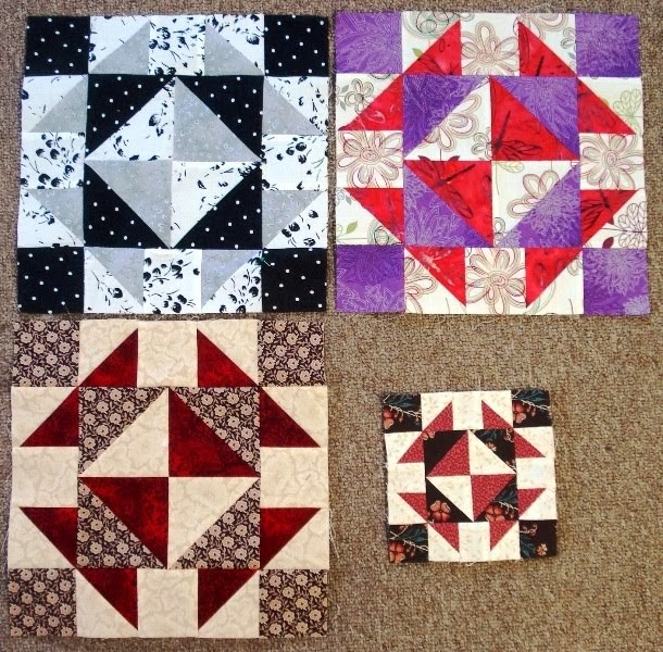 November Alternate Blocks for Second Saturday Sampler