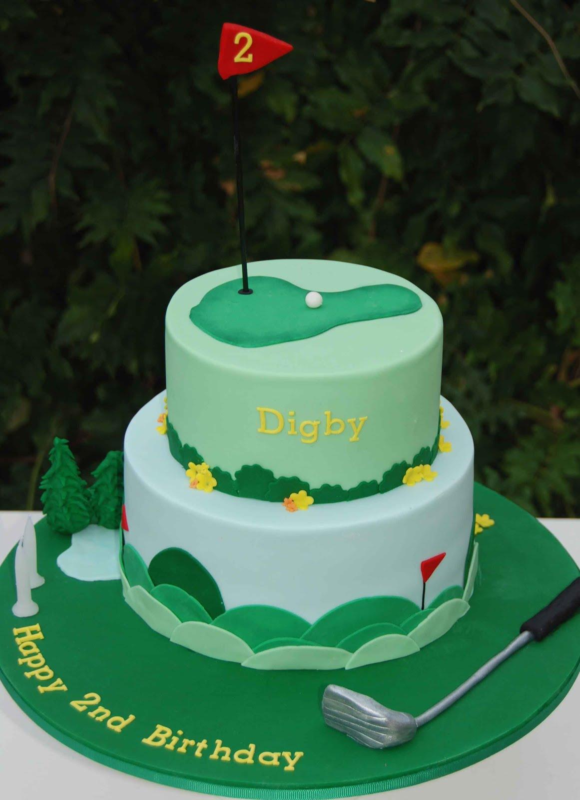 Cake Images Golf : Little Robin: Golf Theme Cake