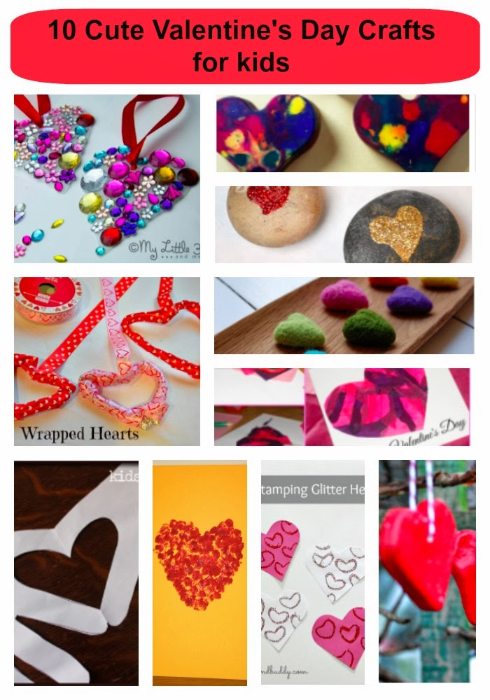 10 Cute Valentine's Day Crafts for kids