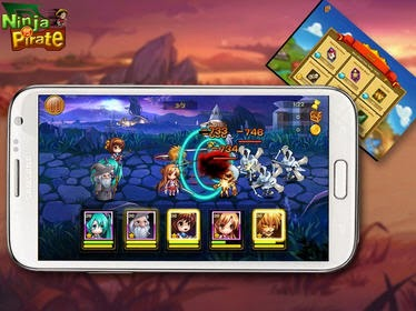 VS Ninja Pirate for Android free download