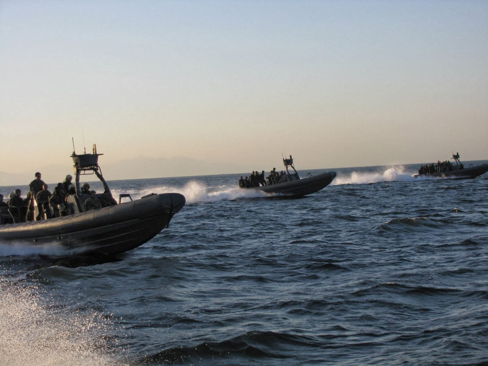 team, together with their RHIB can call the new frigates their home