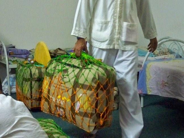 ukuran sesuai dengan koper anda (Jaring pelindung koper/rajut/tambang Haji dan Umroh)