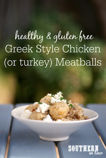 Paleo Greek Style Chicken Meatballs Recipe  low fat, low carb, healthy, gluten free, high protein, turkey mince, chicken mince, paleo, grain free