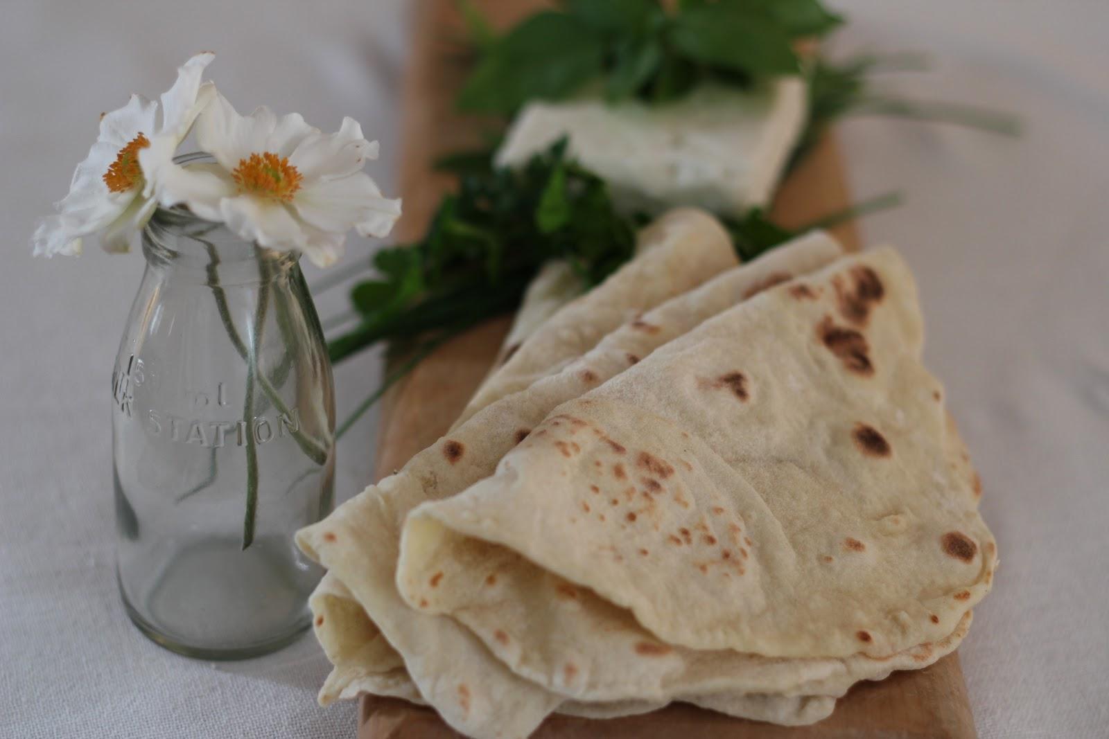 The recipe for lavash