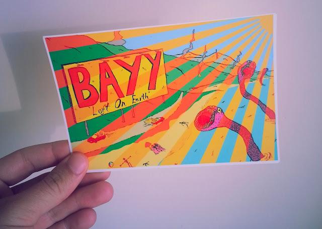 Art is Hard Postcard Club Bayy