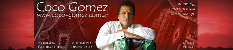 WEB - SITE COCO GOMEZ