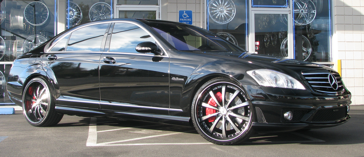 Mercedes Benz S63 Amg On 22 Staggered Lexani Lss 10 Rims Only The Cleanest Cars With Rims