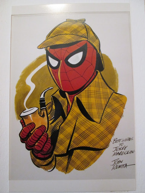 Spiderman Sherlock Holmes