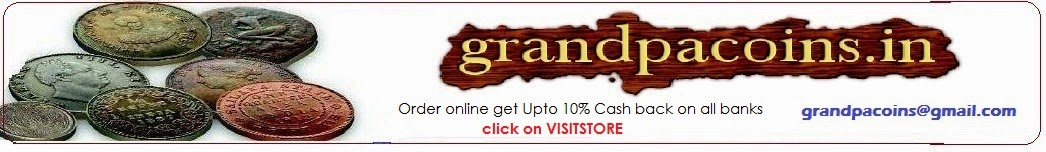 Indian Numismatics,Old Coins and Currencies Collection