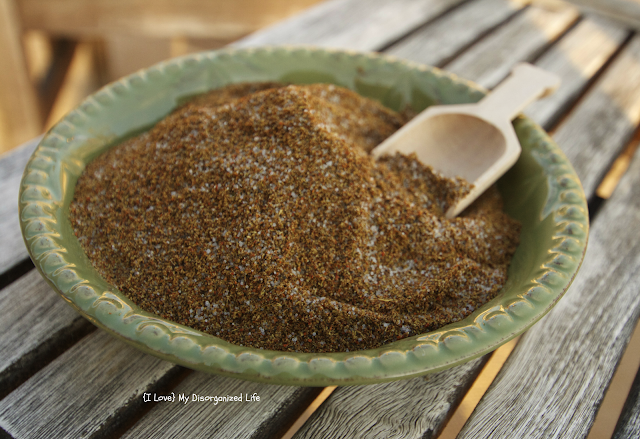 Southwestern Pork and Poultry Rub/ {I Love} My Disorganized Life #spicedrub #pork #poultry