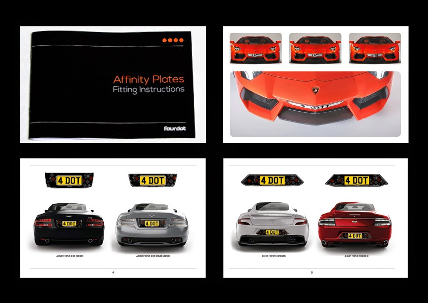 H.R. Owen Dealership Brochure, Custom Aventador content and Fitting Instructions booklet