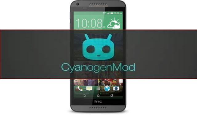 Install Cyanogenmod custom on Htc desire 816 a5