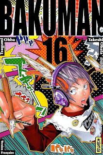 Bakuman tome 16 chez Kana