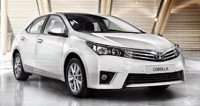 Corolla Altis 1.8G CVT mới nhất 2014