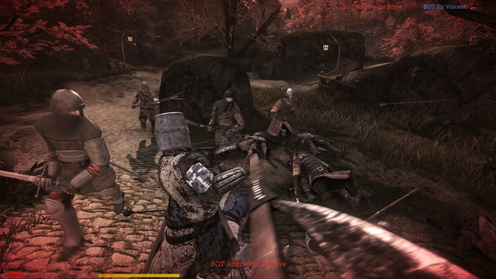 how to fly in chivalry medieval warfare