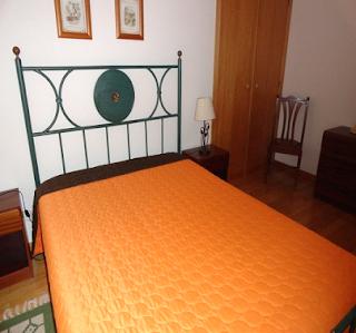 Nazaré - Alugo apartamento T2 - Quarto