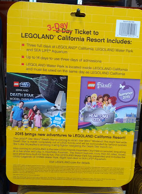 Be a kid again and have fun with legos with the Legoland California Resort 3-day Hopper Ticket