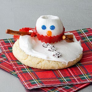 Frosty the Snowcookie
