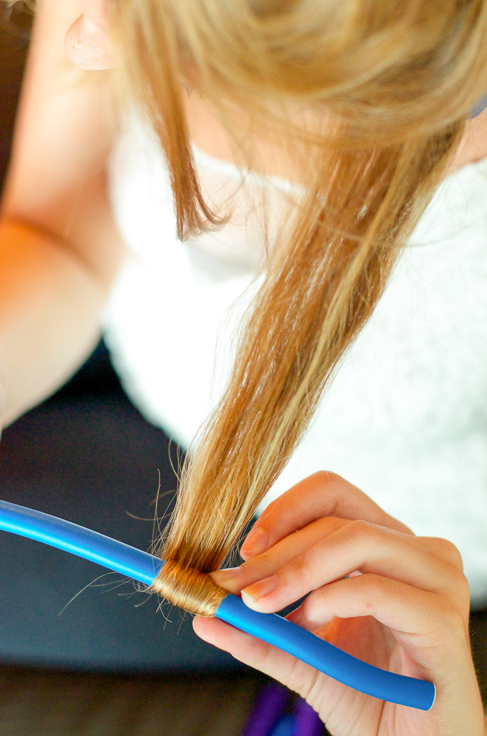 how to get waves in straight hair without heat